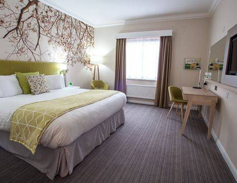 Standard refurbished double bedroom
